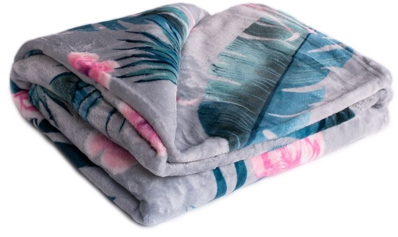Koc XXL / Narzuta na łóżko Fleming grey, 200 x 220 cm
