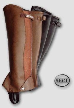 Czapsy / sztylpy ze skóry SECU model Andorra - Kieffer