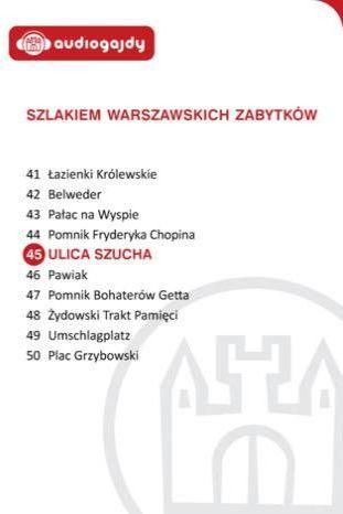 Ulica Szucha. Szlakiem warszawskich zabytków - Ebook.