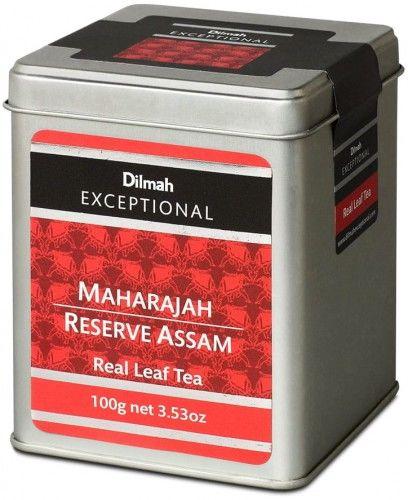 Herbata liściasta Dilmah Maharajah 100g w puszce