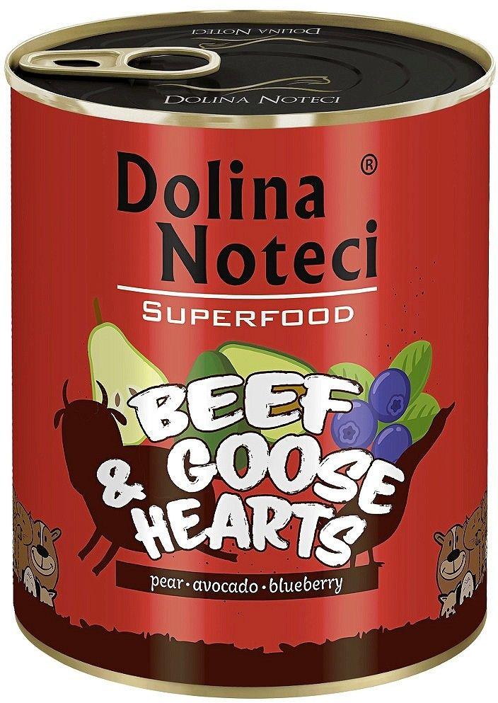 DOLINA NOTECI - Superfood wołowina z sercami gęsi 800g