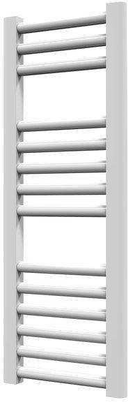 Grzejnik łazienkowy york - wykończenie proste, 300x800, biały