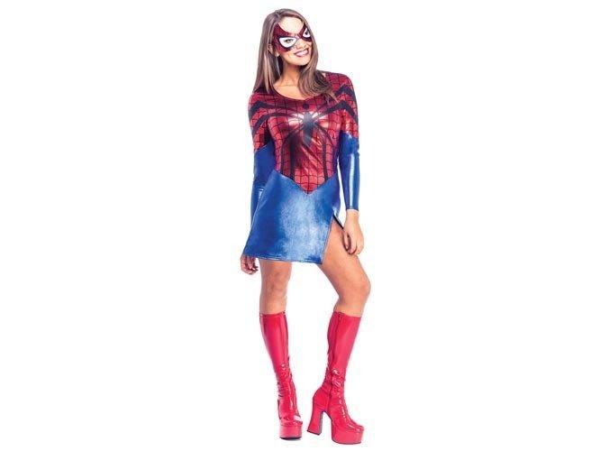 Kostium Spiderman dla kobiety - Roz. XS