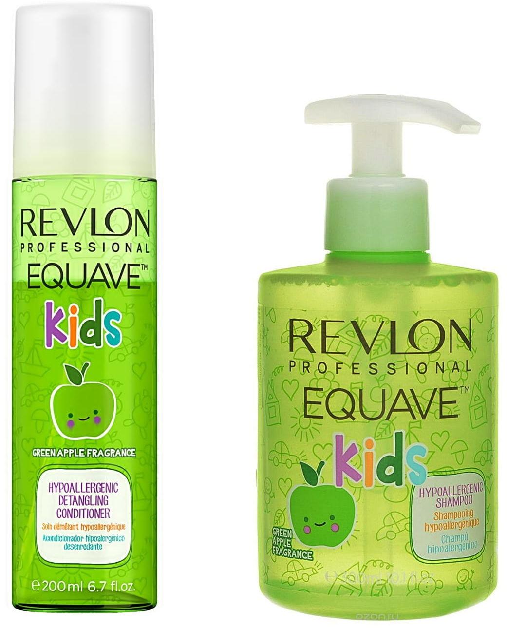 Revlon Kids Zestaw dla dzieci szampon 300ml + odżywka 200ml