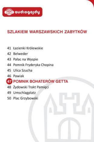 Pomnik Bohaterów Getta. Szlakiem warszawskich zabytków - Ebook.