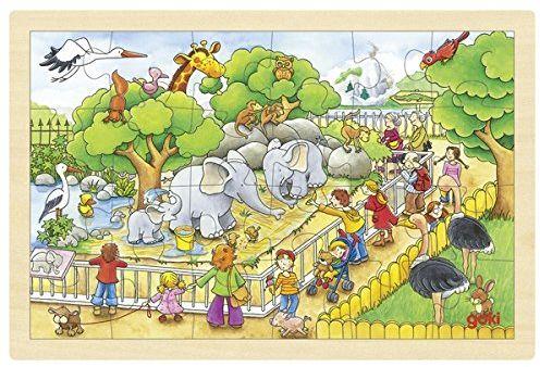 Goki Odwiedź w zoo puzzle