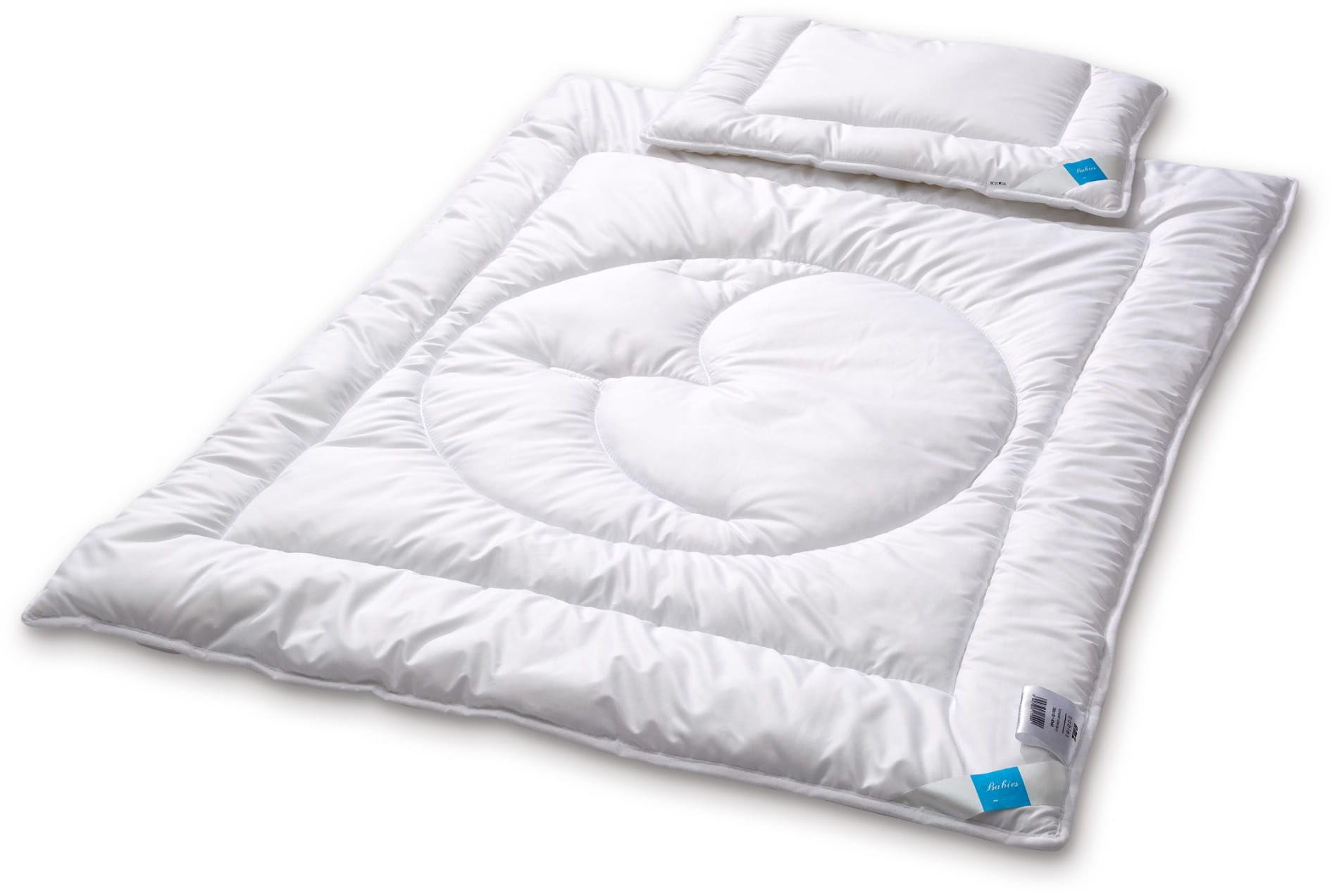 Kołdra dziecięca 90x120 AMZ Mikrofibra z poduszką 40x60 Antyalergiczna