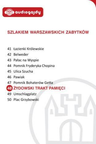Żydowski Trakt Pamięci. Szlakiem warszawskich zabytków - Ebook.
