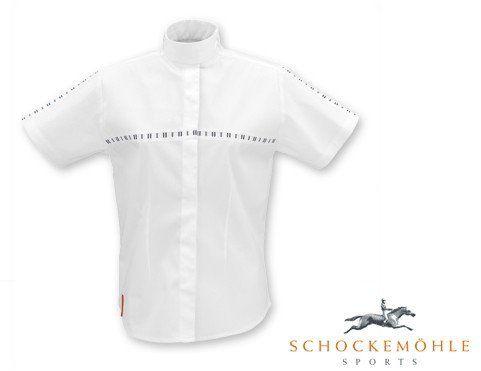 Koszula konkursowa CLAIRE damska - Schockemohle - biały