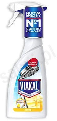 Viakal Aceto - Włoski odkamieniacz w sprayu (Nowa odsłona 500 ml)