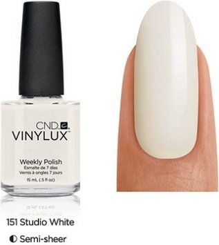 Lakier Cnd Vinylux Studio White