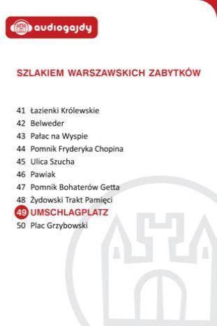 Umschlagplatz. Szlakiem warszawskich zabytków - Ebook.