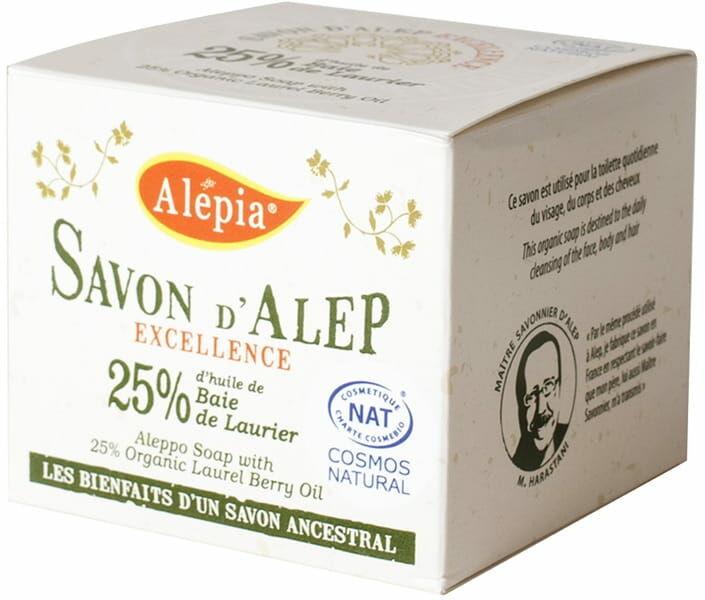 Mydło alep excellence 25% eco 190 g - alepia