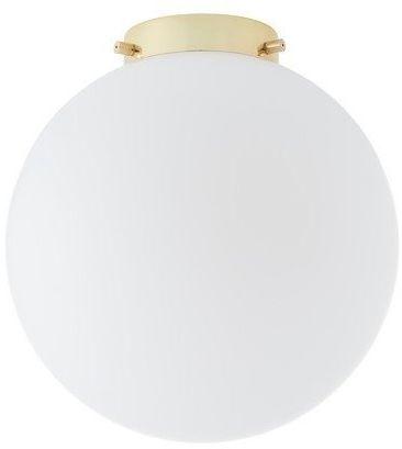 Kaspa - plafon alur, złoto/biały