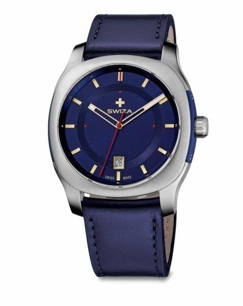 zegarek NOWUS Gent, SST, blue, blue WAT.0541.1003