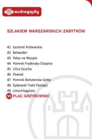 Plac Grzybowski. Szlakiem warszawskich zabytków - Ebook.