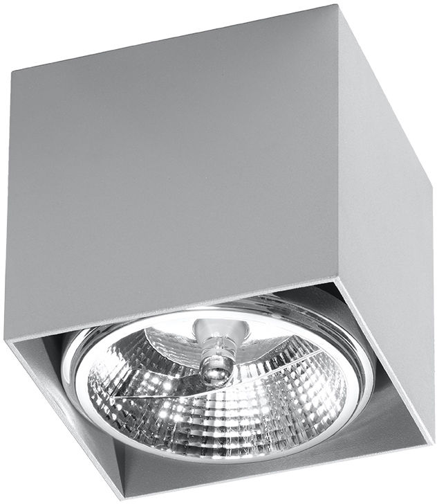 Szary minimalistyczny plafon kostka - EX656-Blaki
