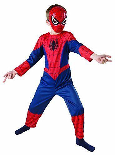 Rubie''s IT887696-M Ultimate Spiderman Classic Costume w pudełku, rozmiar M