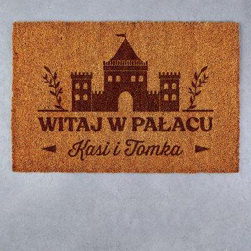 Witaj w pałacu - Wycieraczka Kokosowa