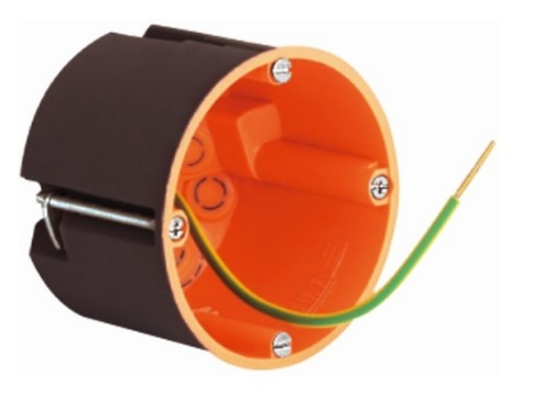 Ekranowa puszka osprzętowa / rozgałęźna 68 / 61 mm