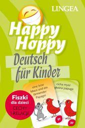 Happy Hoppy, Deutsch fur Kinder. Fiszki dla dzieci: cechy i relacje ZAKŁADKA DO KSIĄŻEK GRATIS DO KAŻDEGO ZAMÓWIENIA