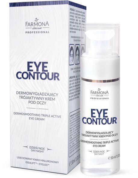 Dermowygładzający trójaktywny krem pod oczy Farmona Eye Contour 30 ml