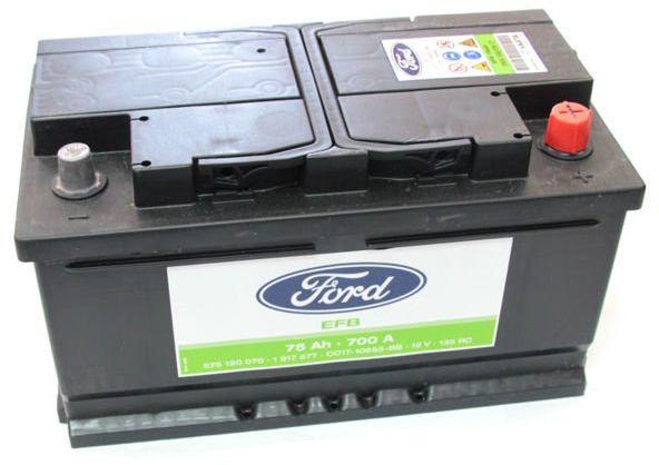 akumulator Ford EFB Start/Stop - 75AH 700A / 1917577