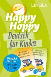 Happy Hoppy, Deutsch fur Kinder. Fiszki dla dzieci: kolory i liczby ZAKŁADKA DO KSIĄŻEK GRATIS DO KAŻDEGO ZAMÓWIENIA