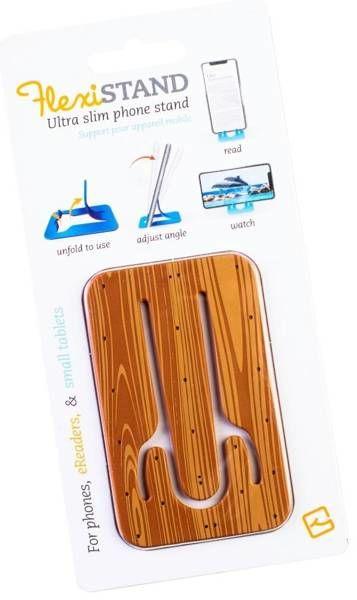 FlexiStand podstawka pod telefon - Wood Drewniana