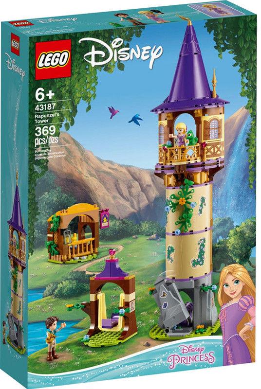 LEGO - DISNEY PRINCESS - WIEŻA ROSZPUNKI - 43187