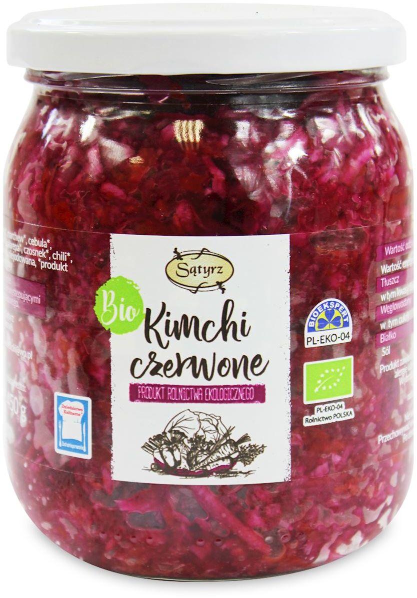 Kimchi czerwone bio 450 g - sątyrz