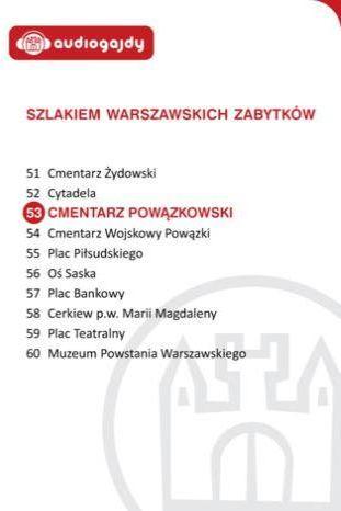 Cmentarz Powązkowski. Szlakiem warszawskich zabytków - Ebook.