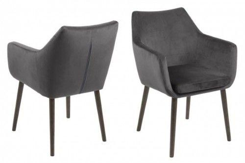 Krzesło Nora VIC szare