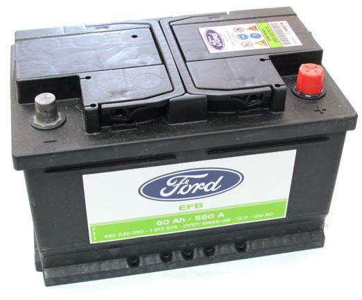 akumulator Ford EFB Start / Stop - 60AH 590A / 1917575