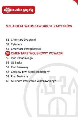 Cmentarz Wojskowy Powązki. Szlakiem warszawskich zabytków - Ebook.
