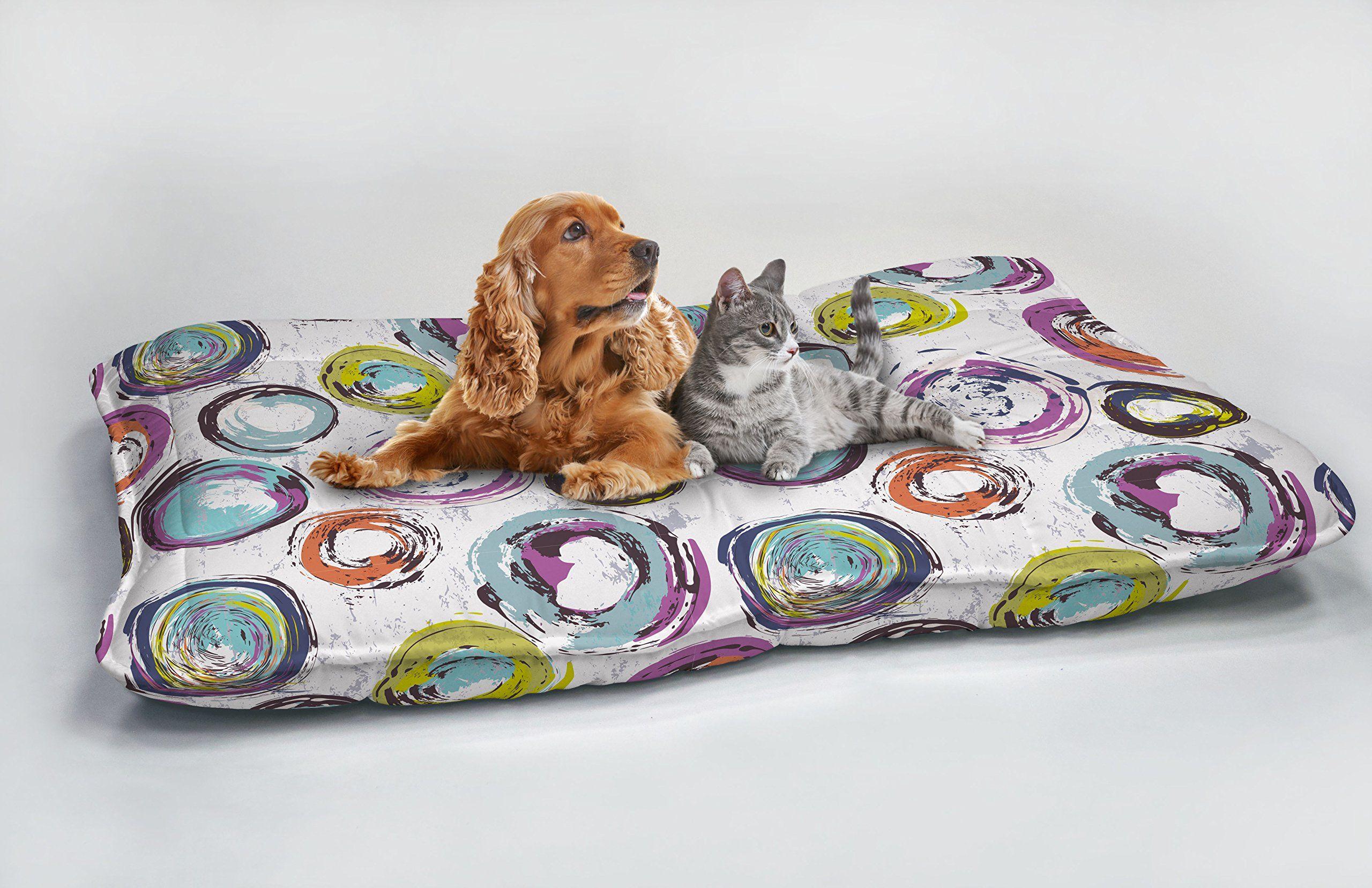 Fantasy Dogs Maxy poduszka Cerchi Astratti, 60 x 100 cm