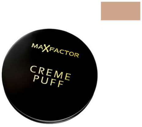 Puder puff Max Factor Creme Compact 75 Złoty