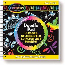 Melissa & Doug Scratch Magic Doodle Sztuka i rzemiosło zdrapka 4+ Prezent dla chłopca lub dziewczyny