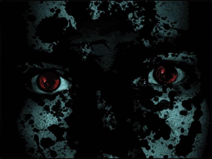 Fear - plakat premium wymiar do wyboru: 84,1x59,4 cm