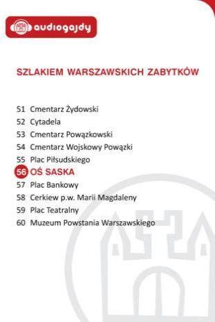 Oś Saska. Szlakiem warszawskich zabytków - Ebook.