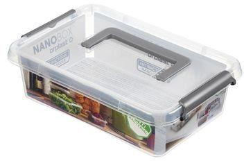 Antybakteryjny Pojemnik na Żywność Orplast Nano Box 3,1l z Uchwytem