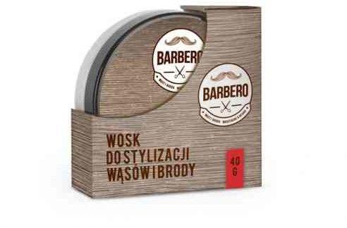 Barbero Wosk do wąsów i brody stylizacja 40g