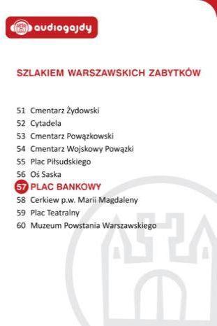 Plac Bankowy. Szlakiem warszawskich zabytków - Ebook.