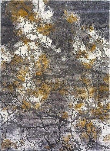 Dywan ZARA 9651 żółto-szary
