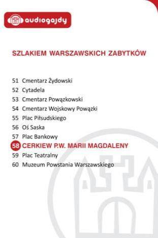 Cerkiew pw. Marii Magdaleny. Szlakiem warszawskich zabytków - Ebook.