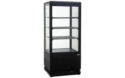 Witryna Chłodnicza Mini Czarna 78 L