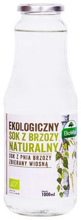 Sok z Brzozy Naturalny BIO 1L - EkoWital