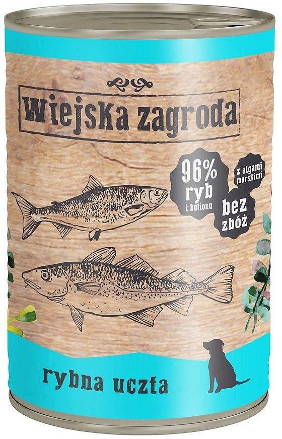 WIEJSKA ZAGRODA - Rybna uczta 400g