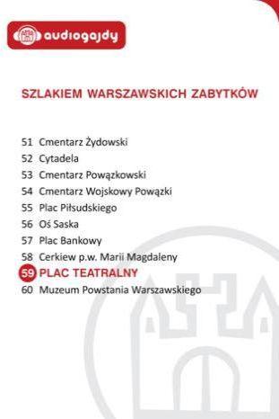 Plac Teatralny. Szlakiem warszawskich zabytków - Ebook.