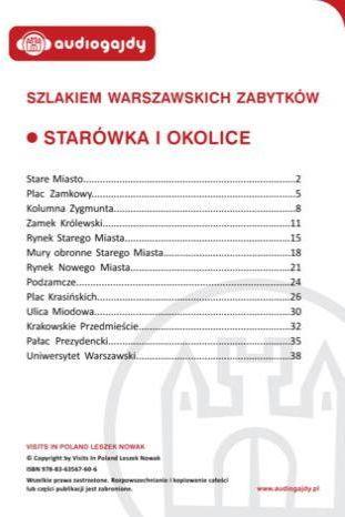 Starówka i okolice. Szlakiem warszawskich zabytków - Ebook.